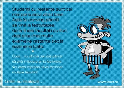 One piece of a Behavioral Analysis (I): studentu-n stresiune
