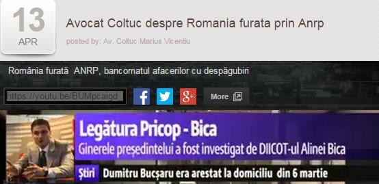 Aţi văzut documentarul lui Coltuc despre ANRP de la DIGI24? Nici noi.