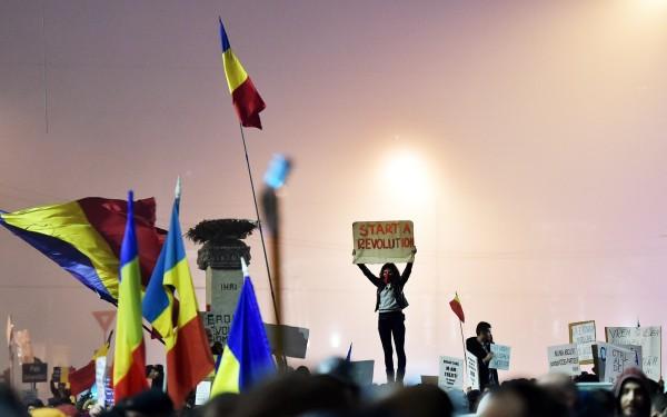 La protest, Fănele!